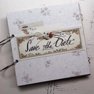 Scrapbook Save The Date