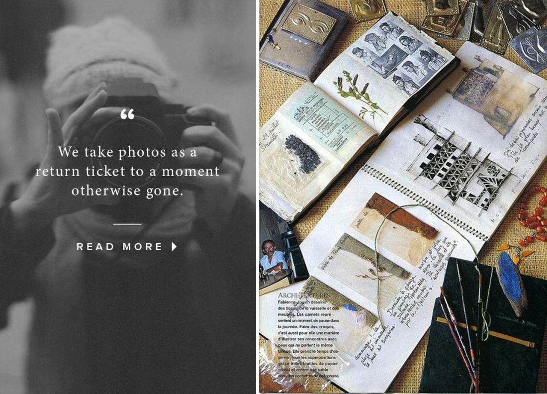 Hãy viết một cuốn nhật ký của chính mình với sự minh họa sống động của hình ảnh