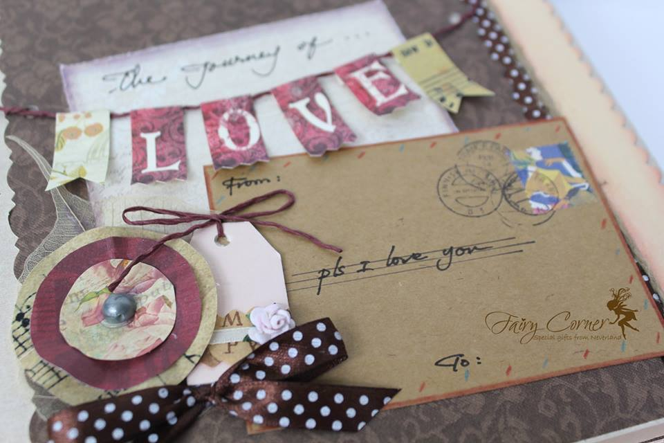 Fairy Corner - Scrapbook ps i love u