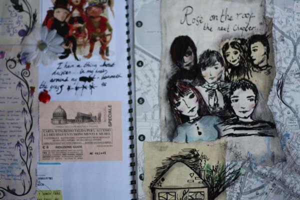 Fairy Corner - Scrapbook