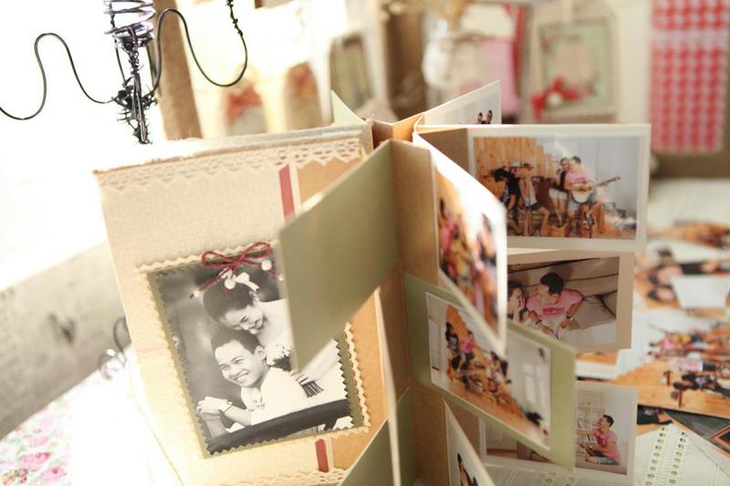 Fairy Corner - Trang tri dam cuoi handmade fly album 1