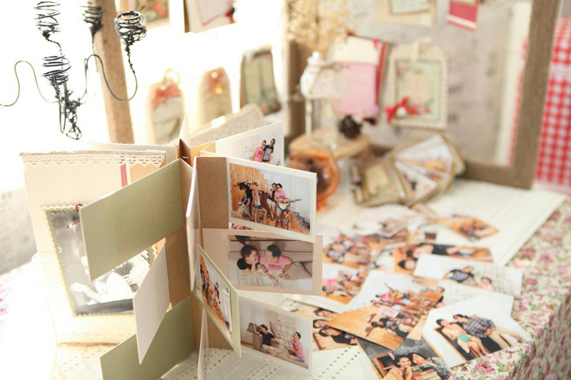 Fairy Corner - Trang tri dam cuoi handmade fly album 2