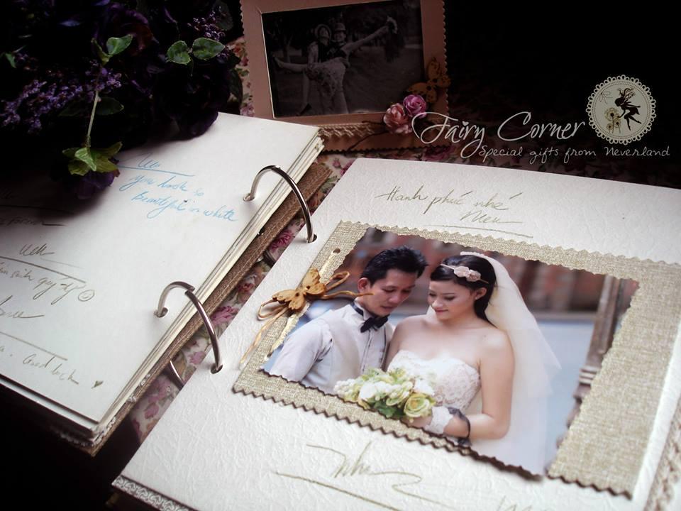 Fairy Corner - Trang tri dam cuoi handmade scrapbook 6