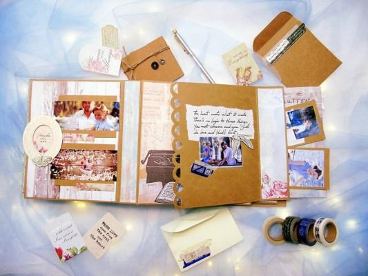 Scrapbook - sáng tạo từ giấy làm Scrapbook