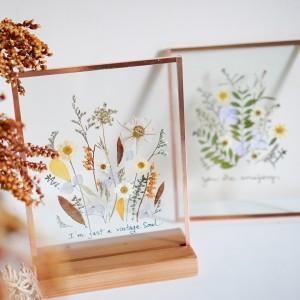 Khung tranh ép hoa